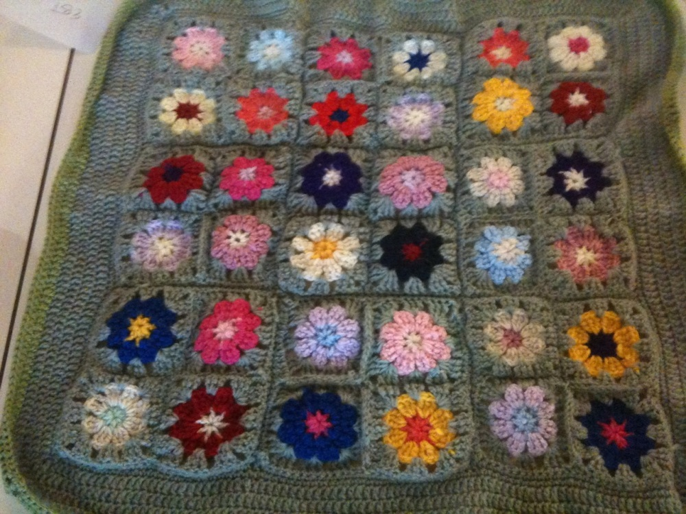 Crocheted Baby Blanket